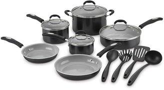 Cuisinart pro-classic 14-pc. ceramic nonstick cookware set