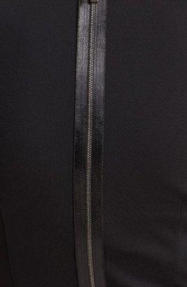 Elie Tahari Embellished Front Dress