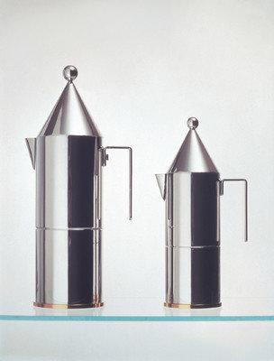 Alessi La Conica Espresso / Coffee Maker in Mirror Polished by Aldo Rossi