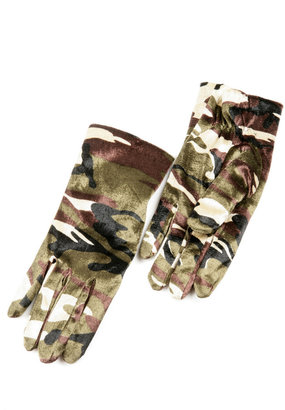 Camo Thinsulate Gloves
