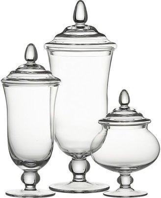 Crate & Barrel Delfina Covered Jars