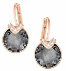 Swarovski Bella V Grey Crystal Drop Earrings
