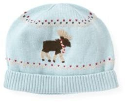 Janie and Jack Moose Fair Isle Hat