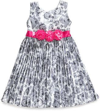 Nannette Little Girls' Floral Dress