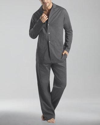 Hanro Madison Woven Pajamas