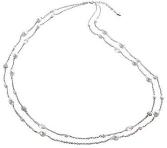 Lauren Ralph Lauren Double-Strand Faux Pearl and Crystal Necklace