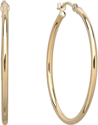 FINE JEWELRY Infinite Gold 14K Yellow Gold Hoop Earrings $468.73 thestylecure.com