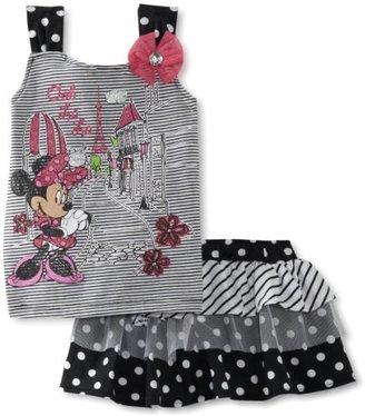 Disney Girls 2-6x Minnie Mouse 2 Piec...