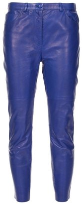 Acne Leather trousers