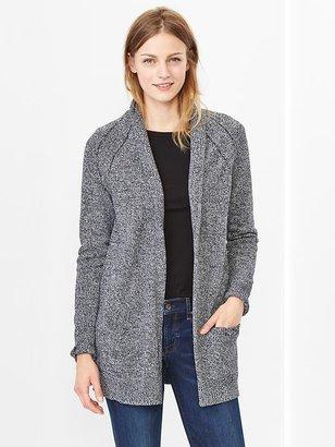 Gap Marled shawl open-front cardigan