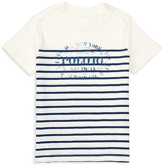 Ralph Lauren Childrenswear Boys' Graphic Tee - Little Kid