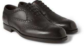 Bottega Veneta Leather Oxford Brogues