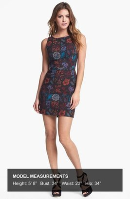 BB Dakota 'Leona' Brocade Cotton Sheath Dress