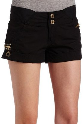 Southpole Juniors Woven Shorts With Elastic Waist