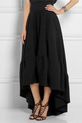 Antonio Berardi Cotton-blend jersey skirt