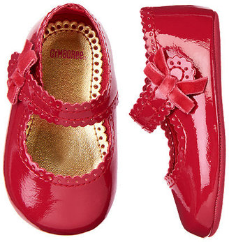 Gymboree Bow Patent Crib Shoe