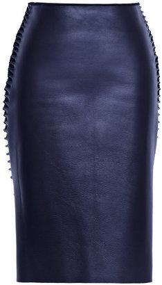 Dion Lee Preorder 3D Filter Leather Skirt