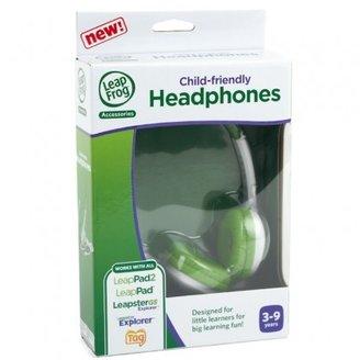 Leapfrog Green Headphones