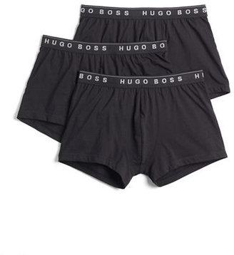 HUGO BOSS Three-Pack Cotton Boxer Shorts