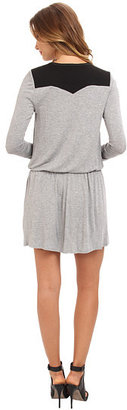 BCBGeneration L/S V-Neck Shirt Casual Dress ONN68B11