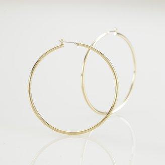 Ralph Lauren Large Gold Hoop Earring