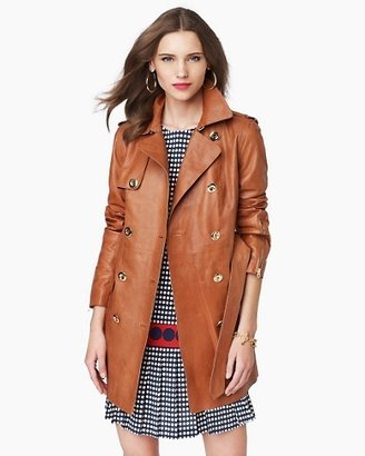 Juicy Couture Leather Trench