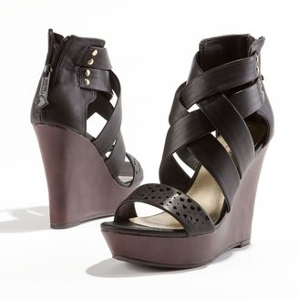 Vera Wang Princess platform wedge sandals - women