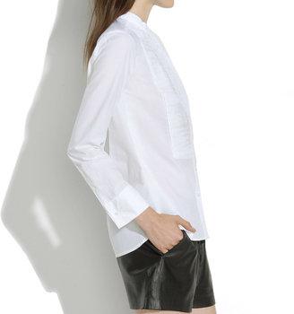 Madewell Collarless Tux Shirt