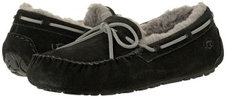 UGG Olsen (Black Suede) Men's Slip on Shoes