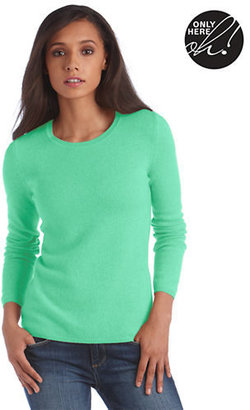 Lord & Taylor Fall Soft Collection Cashmere Crewneck Pullover Sweater