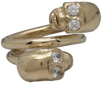 Jennifer Fisher Double skull ring