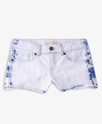 Forever 21 girls Mineral Wash Denim Shorts