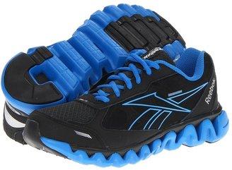 Reebok Kids - Ziglite Rush (Big Kid) (Gravel/Black/Blue Sport/Silver) - Footwear