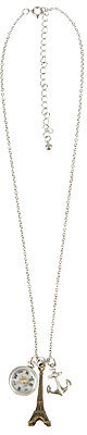 Forever 21 Compass Charm Necklace