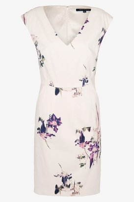 French Connection Water Flower Fitted Dress