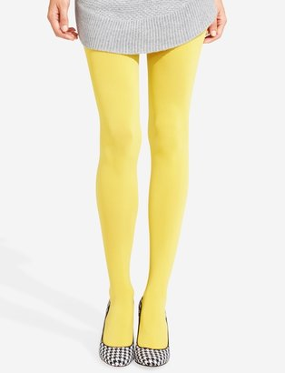 The Limited Basic Opaque Control Top Tights