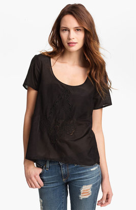 Sanctuary Embroidered Tee