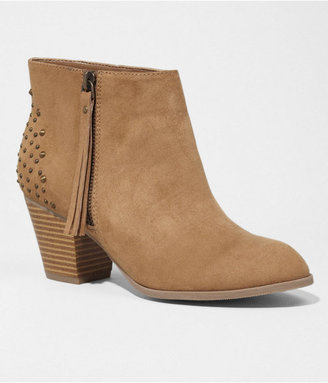 Express Studded Side Zip Bootie