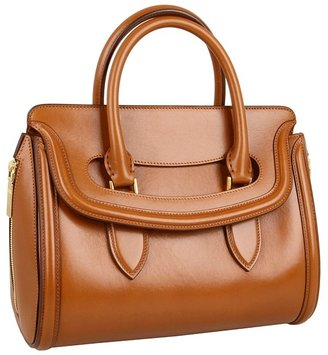Alexander McQueen Heroine Small (Burnt Camel) - Bags and Luggage