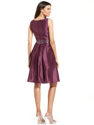 JS Boutique Sleeveless Embellished A-Line Dress