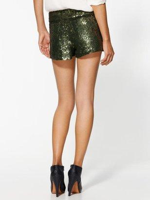 Haute Hippie Sequin Short