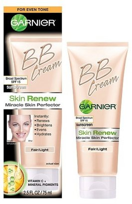 Garnier Skin Renew Miracle Skin Perfector BB Cream for Even Tone Fair / Light