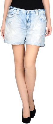 DON'T CRY Denim shorts