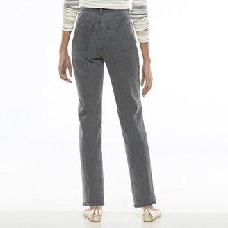 Gloria Vanderbilt Amanda Scroll Tapered Jeans - Women's