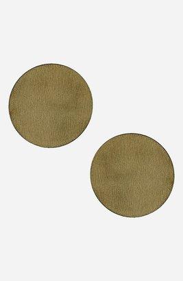 Topshop Small Goldtone Disc Earrings