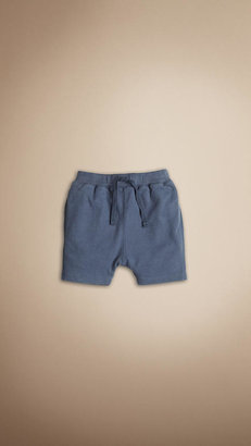 Burberry Cotton Jersey Shorts