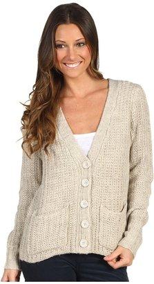 Kensie Button Front Cardigan (Birch) - Apparel