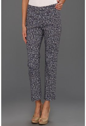 Nic+Zoe Glow In Light Moonstone Print Pant (Multi) - Apparel