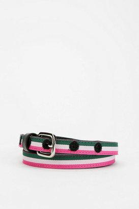 BDG Striped Web Belt