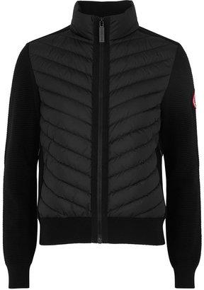 Canada Goose Hybridge Wool And Shell Jacket